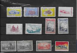 Lot  Diverses Vignettes  D Automobiles - Autos