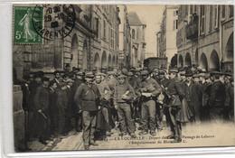 17 -- CHARENTE MARITIME -- LA  ROCHELLE --  DEPART DE FORCATS PASSAGE DE LEBORRE - La Rochelle