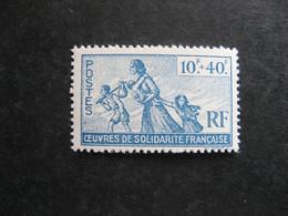 FRANCE LIBRE: TB N° 7, Neuf XX. - Wars