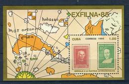 CUBA 1985 - Mi. 2972 Bl.92 EXFILNA '85 MNH - Neufs