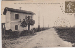 64 - PYRENEES ATLANTIQUES - ABITAIN - PASSAGE A NIVEAU - Andere Gemeenten