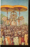 ASA326 HINDU GOD PERUMAL MAHAVELLIPURAM  ( OILETTE N°8987 ) - Indien