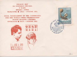 Yugoslavia, Chess, Final Tournament Of The Candidates For The World Chess Championship, Spasski - Fischer 1972 - Ajedrez