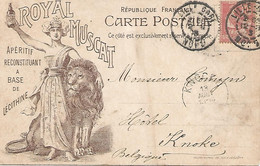 """Postkaart """"Royal Muscat"""" Lille 1903 - Lille"""