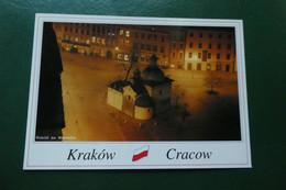 C9  CRACOVIE CRACOW ST ADALBERT S CHURCH LA NUIT   POLOGNE EUROPE - Poland