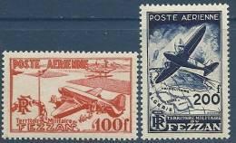 "Fezzan Aerien YT 4 & 5 (PA) "" Avions "" 1948 Neuf** - Non Classés"