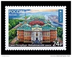 Russia 2017 Mih. 2420 Europa-Cept. Castles. St Michael's Castle MNH ** - Nuovi