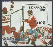 Nicaragua 1987 Mi Bl172 MNH ( ZS1 NCRbl172 ) - Nicaragua