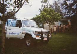 Photo SABENA Voiture 4x4 Toyota Vers 1995 Aviation - Luftfahrt