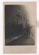 +407, FOTO-AK, WK I, Geluwe, Flandern, Belgien, Blindgänger - War 1914-18