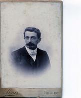 Bolbec(76): Photo Lous Type Cdv Vers 1900 - Persone Anonimi
