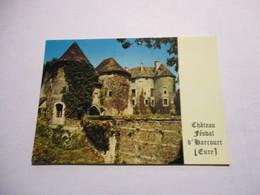 CP Harcourt - Le Chateau Féodal - Harcourt