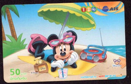 TK -  N0225 DISNEY - Tailand - Prepaid 12call - Disney
