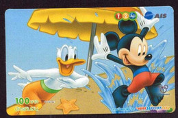 TK -  N0227 DISNEY - Tailand - Prepaid 12call - Disney