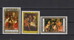 Dahomey / Niger / Cameroon 1975/1976 Paintings Rubens 3 Stamps MNH - Rubens