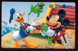 TK -  N0228 DISNEY - Tailand - Prepaid 12call - Disney
