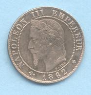 1 CENTIME  NAPOLEON III  1862 BB  ATELIER STRASBOURG PETIT BB   TTB/SUP - A. 1 Centime