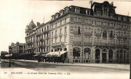 N° 6389 Z -cpa Belfort -le Grand Hôtel Du Tonneau D'Or- - Belfort - City