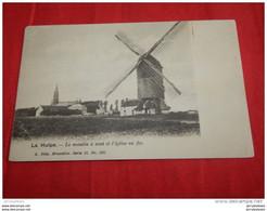 LA HULPE  -   Le Moulin à Vent Et L' Eglise En  Fer  - - La Hulpe