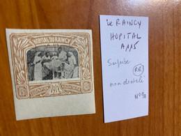 Vignette Non Dentelé -hôpital A115 Le Raincy - Military Heritage