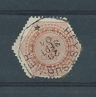 TG 9 OBLITERE HEYST SUR MER - Telegraphenmarken