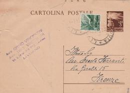 INTERO POSTALE L.3+1 NUMERI TAVOLA (HC580 - Entero Postal