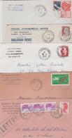 17 BRIZAMBOURG 5 ENVELOPPES PUBLICITAIRES - 1950 - ...