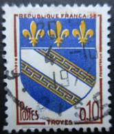 FRANCE N°1353a 3 Bandes De Phosphore Oblitéré - Gebraucht