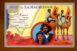"""LES COLONIES FRANÇAISES . """" LA MAURITANIE """" . PUBLICITÉ CIRAGE LION NOIR - Réf. N°11152 - - Historia"""