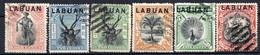 LABUAN - (Colonie Britannique) - 1897-1900 - N° 71 à 85 - (Lot De 12 Valeurs Différentes) - Noord Borneo (...-1963)