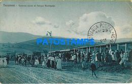 152653 ARGENTINA TUCUMAN TRAMWAY TRANVIA RURL AL PARQUE ACONQUIJA CIRCULATED TO BUENOS AIRES  POSTAL POSTCARD - Argentina