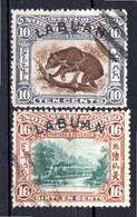 LABUAN - (Colonie Britannique) - 1902 - N° 104 Et 105 - (Lot De 2 Valeurs Différentes) - Noord Borneo (...-1963)