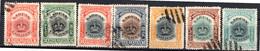LABUAN - (Colonie Britannique) - 1902-03 - N° 106 à 115 - (Lot De 7 Valeurs Différentes) - Noord Borneo (...-1963)