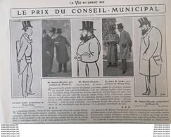 1904  HIPPISME - LE PRIX DU CONSEIL MUNICIPAL - DESSIN DE SEM - 1900 - 1949