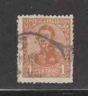 ARGENTINE (Y&T) 1923 - N°277  * San Martin*    1p. Obli  () - Oblitérés