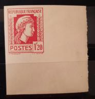 France 1944 N°638 Coq Et Marianne D'Alger CdF Nd Cote Maury 80€  ** TB - Ungezähnt