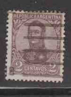 ARGENTINE (Y&T) 1923 - N°278  * San Martin*    2p. Obli  () - Oblitérés