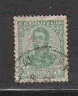 ARGENTINE (Y&T) 1923 - N°279  * San Martin*    3p. Obli  () - Oblitérés