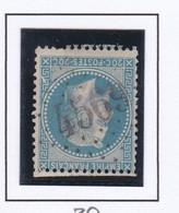 GC 4569 SAINT ANDRE LE GAZ ( Dept 37 L' Isère ) S / N° 29 Indice Baudot S / L : 15 Soit 160€ - 1849-1876: Klassik