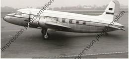 PHOTO  RETIRAGE REPRINT AVION    VICKERS VARSITY  CENTRAL AFRICAN AIRWAYS VP-YNE - Aviazione
