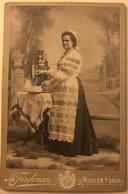 Belarus - Mahiliow Mohilew Moguilev - Photo Foto Circa 1900 - Woman With Samovar ? - Wit-Rusland