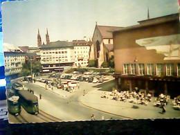 SUISSE  SVIZZERA - BASILEA - BALE - BASEL - Barfusserplatz  TRAM V1958  HY4153 - BS Basel-Stadt