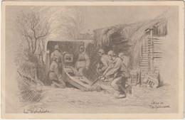 Alte Ansichtskarte Aus Dem 1. Weltkrieg -Bei Wijtschate Von W. Seilnacht - Oorlog 1914-18