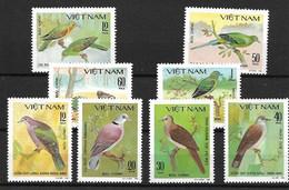 VIETNAM 1981 Birds MNH - Pigeons & Columbiformes