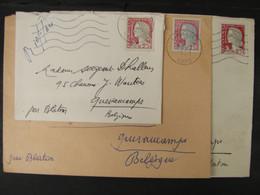 LetDoc. 564. Lettres, Marianne De Décaris N°1262. Teinte Différente, Barre Du E En Haut à Gauche, Cadre Gris Absent - 1960 Marianne De Decaris