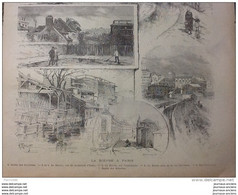 """1889 LA BIEVRE À PARIS / THÉÂTRE FRANÇAIS """" Henri III """" / Mr Henri GEFFEKEN - 1850 - 1899"""