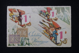 SURINAM - Affranchissement De Paramaribo Sur Carte Postale En 1934 Par La Guyane Anglaise... Et Pour La France - L 88129 - Suriname ... - 1975
