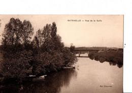 """RATENELLE. -  Vue De La Seille.  Ed. Chevrier. """"barques"""".  ETAT NEUF.  Voir SCANS Recto-verso - Other Municipalities"""