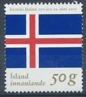 Islande 2015, N°1393 Neuf 100 Ans Du Drapeau - Unused Stamps