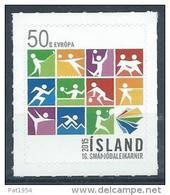 Islande 2015, N°1391 Neuf Jeux Sportifs Des Petits Pays D'Europe - Unused Stamps